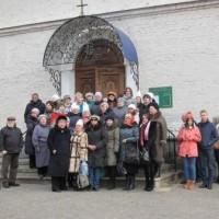 на ступенях Маркова монастыря
