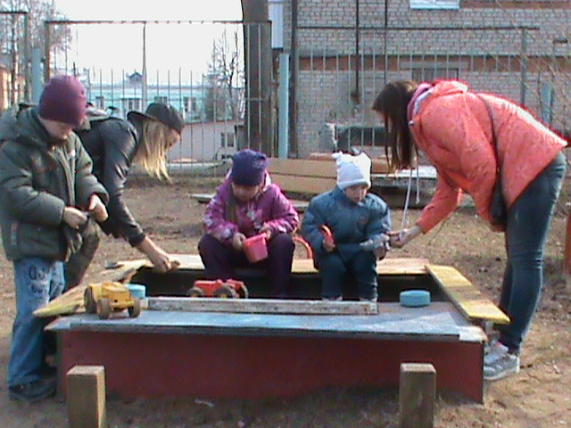 Поездка волонтёров в детский сад № 3