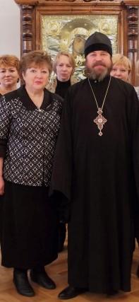 Участие в заседании комиссии по работе кафедр православной литературы