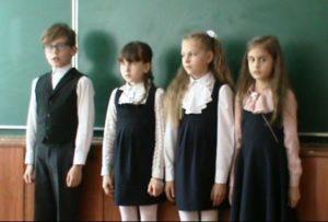 дети Смоленщины читают Рубцова