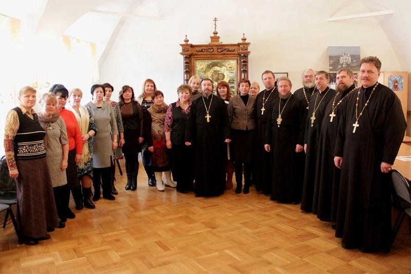 Итоги  работы библиотек и кафедр православной литературы подвели в 2016 году