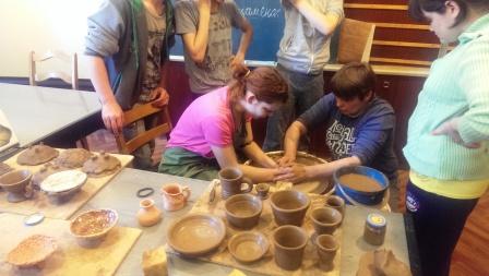Мастер-класс «Живая глина»