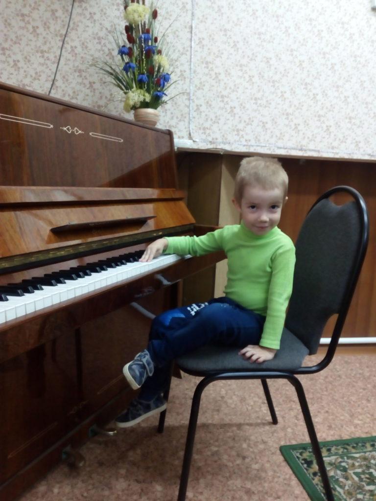 Научите ребёнка музыке!