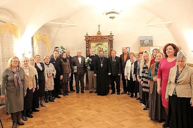 Ноябрьское заседание Смоленского областного объединения православных писателей