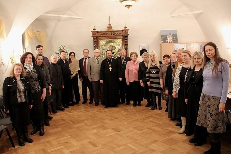 Декабрьское заседание Смоленского областного объединения православных писателей (18+)