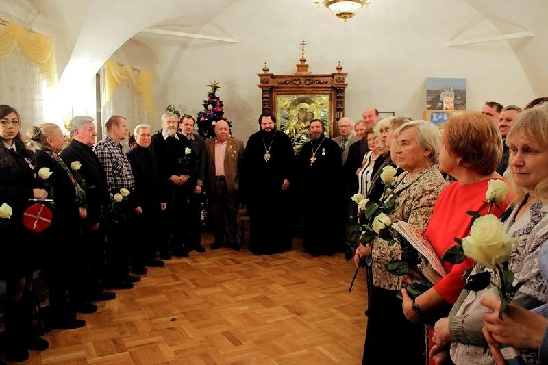 Рождественская встреча Православных писателей с митрополитом Исидором (18+)
