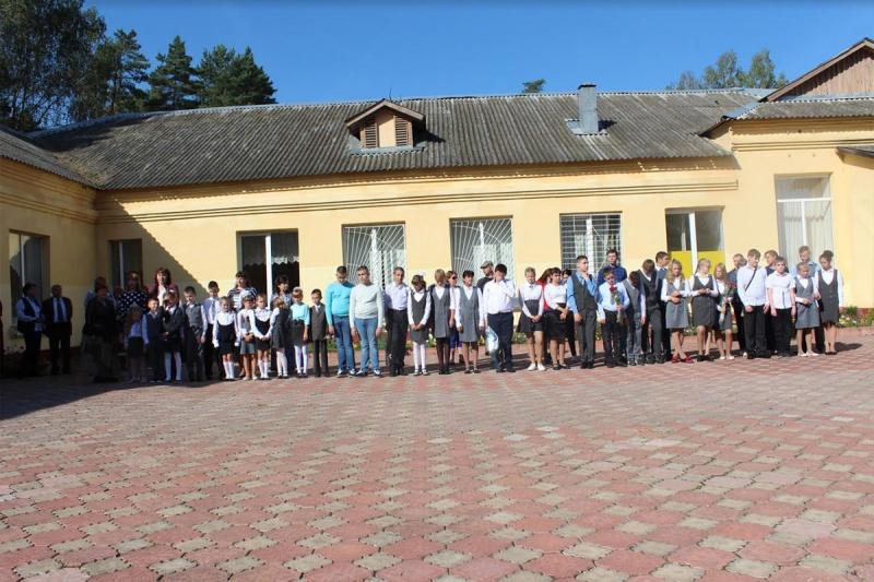 День знаний в Краснинской средней школе-интернате для обучающихся с ограниченными возможностями здоровья