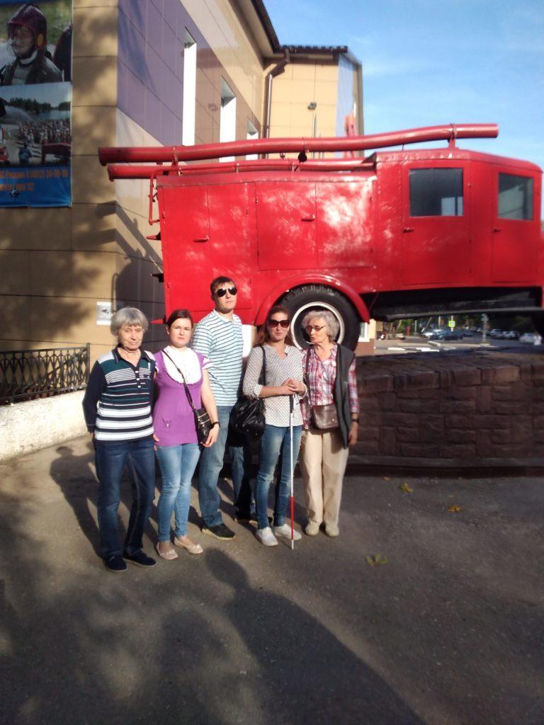 Экскурсия в музей пожарной охраны